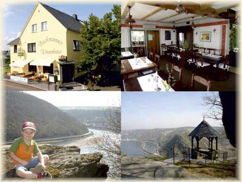 Hotel-Restaurant Winzerhaus Urbar/Loreley, Fam. Beckmann