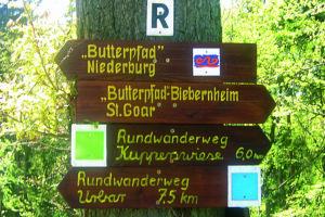 Wandermöglichkeiten am Mittelrhein