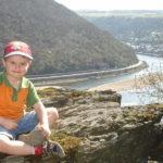 Blick auf das Rheintal bei Oberwesel